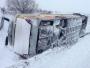 Tomislavgrad: Autobus s učenicima sletio s ceste, drugog prevrnula bura