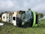 33 osobe ozlijeđene u prevrtanju Flixbusa