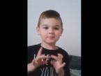 VIDEO: Nino Avdić - petogodišnji genije iz Mostara