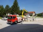 FOTO: Radovi na spomen obilježju poginulim braniteljima na Uzdolu