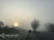 Oprez zbog magle, odrona i radova