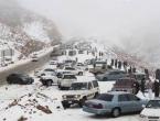 Snijeg prekrio pustinju u Saudijskoj Arabiji
