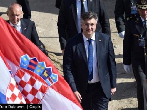 Plenković u Kninu: Oluja je spriječila još jednu Srebrenicu