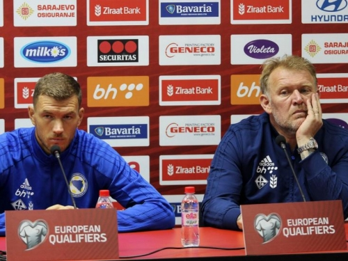 Džeko: Prosuli smo dosta bodova, moramo dobiti Lihtenštajn