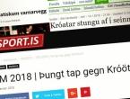 "Islandski mediji: ""Hrvatska je klasa iznad nas"""