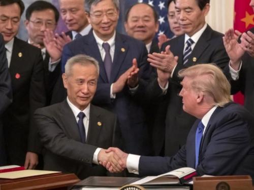 Trump s Pekingom potpisao prvu fazu trgovinskog sporazuma