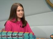 VIDEO: Lucija Šarčević gostovala u emisiji ''Vrijeme je za goste''