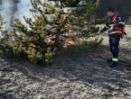 Tri požara na području Tomislavgrada, jedna osoba uhićena