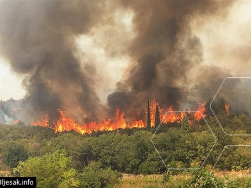 Hercegovina u plamenu, najkritičnije u Čapljini
