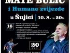 Mate Bulić i Humane zvijezde za obnovu doma kulture Stjepana Radića u Šujici