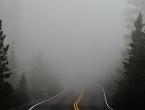 Kolnici suhi, magla otežava promet