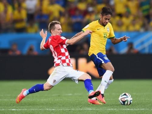 Hrvatska - Brazil na Anfieldu