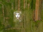 Čitluk: Izradile Isusov lik od papira dimenzija 70×50 metara