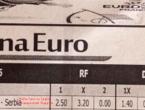 Albanci se sprdaju: Koeficijent na pobjedu Srbije im je - nula!