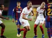 Rakitić u prvom nastupu sa Sevillom nakon povratka zaustavio Barcu