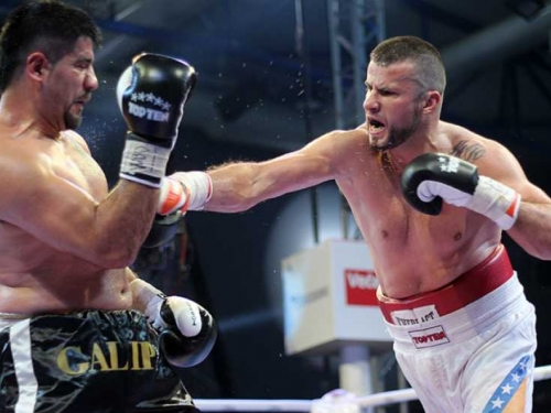 Damir Beljo boksa za svjetski pojas