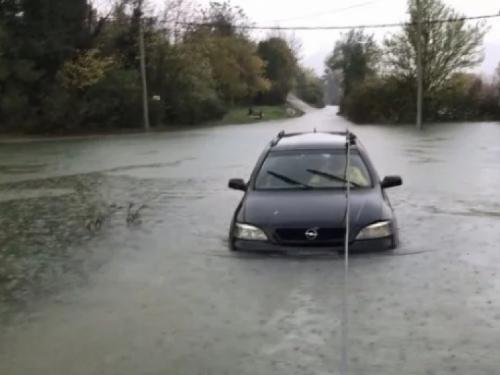 Jako nevrijeme i poplave u Crnoj Gori