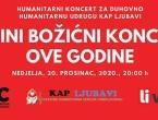 NAJAVA: Online božićni koncert za Duhovno-humanitarnu udrugu Kap ljubavi