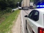 BIHAMK: Kamion i dalje stoji na cesti na Makljenu