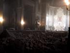 Strašno razaranje i urušavanje u crkvi Srca Isusova u Palmotićevoj u Zagrebu