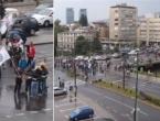 Nezadovoljni veterani blokirali glavnu cestu i razbijali aute