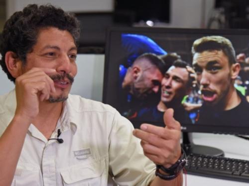 Yuri Cortez: Čovjek čije su fotke hrvatskih igrača obišle svijet postao zvijezda