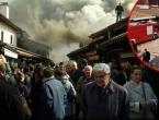 Požar na Baščaršiji progutao više trgovina i lokala: Evakuacija zbog snažnog mirisa plina