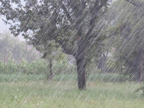Kiša, vjetar i žuti meteoalarm