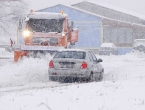 Snijeg počeo padati diljem Hrvatske