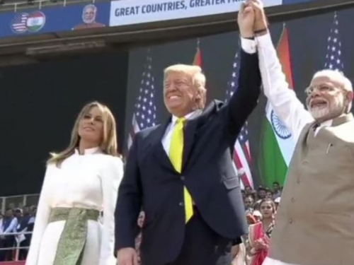 100.000 Indijaca pozdravilo američkog predsjednika