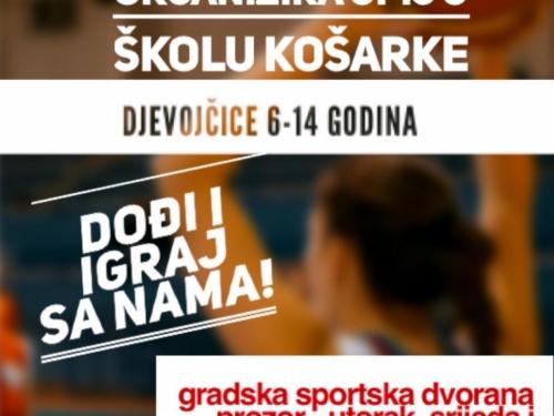 HŽKK Rama organizira upis u školu košarke