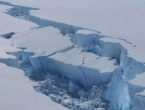 Ledenjak veličine pola Dalmacije odlomio se od Antarktike