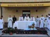 FOTO: Misa Uočnica povodom proslave Velike Gospe u župi Rama Šćit