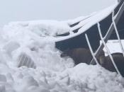 U Paklinama na farmi u vlasništvu poduzeća Perčinović urušio se krov