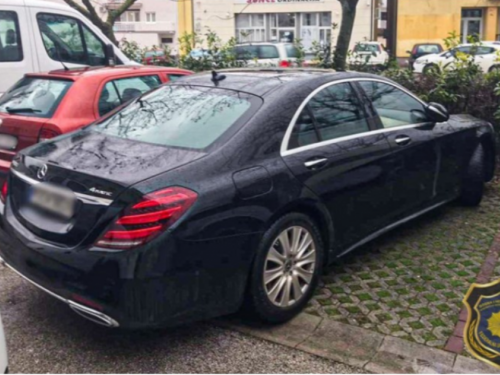 Mercedes ukraden u Njemačkoj pronađen u Širokom Brijegu