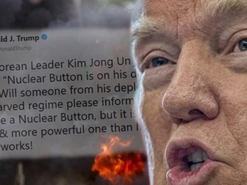 """Trump Kim Jong-unu: """"Moj nuklearni gumb je veći od tvojeg. I radi."""""""
