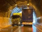 Radovi u tunelu: Kamioni ne mogu iz Jablanice prema Prozoru