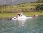 Ronitelji ''Bosne'' u ekološkoj akciji na Ramskom jezeru