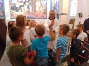 Započela trodnevnica u župi Rama Šćit, prvašići darovani prigodnim darovima