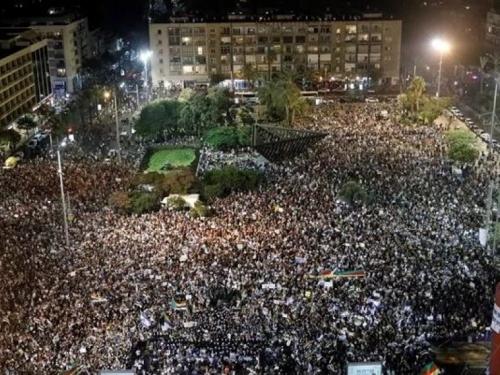 Deseci tisuća izraelskih Arapa na ulicama zbog kontroverznog zakona
