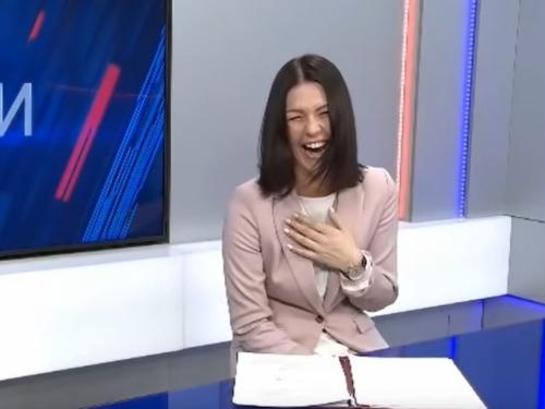 Voditeljica prasnula u smijeh dok je čitala vijest o povećanju pomoći za osobe s invaliditetom