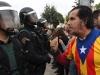 Relativno mirna noć u Kataloniji, nered u Madridu, prosvjed u Baskiji