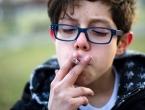 Svako šesto dijete u dobi od 13 do 15 godina je stalni pušač