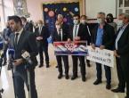 Hrvati iz BiH donirali 1,5 milijuna kuna za školu u Petrinju
