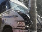 U sudaru dvaju kombija ozlijeđeno devet odbojkašica i dva vozača