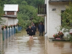 Velika poplava u Slavoniji, rijeke teku naseljima
