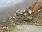 Odron kamena na putu Jablanica-Prozor, promet potpuno obustavljen