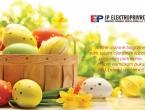 Sretan Uskrs želi vam Elektroprivreda HZ HB dd Mostar