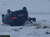 Blidinje: Automobil završio na krovu, ozlijeđenih nema