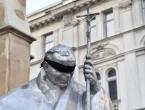 Misa za Bleiburg: Crni povez stavljen preko očiju pape Ivana Pavla II